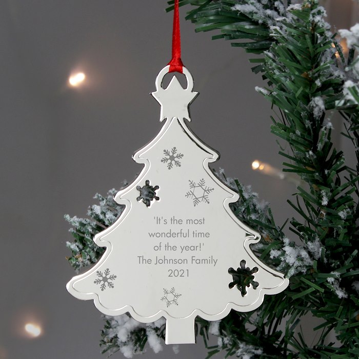 Any Message Christmas Tree Decoration