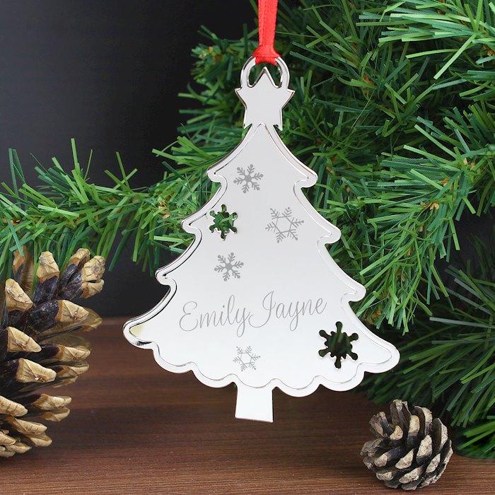 Any Name Christmas Tree Decoration