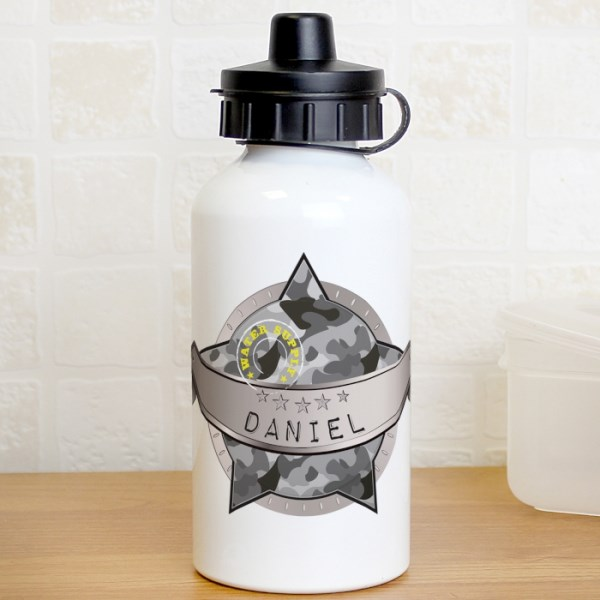 Army Camo Drinks Bottle