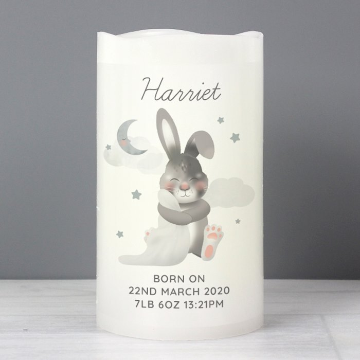 Baby Bunny LED Candle