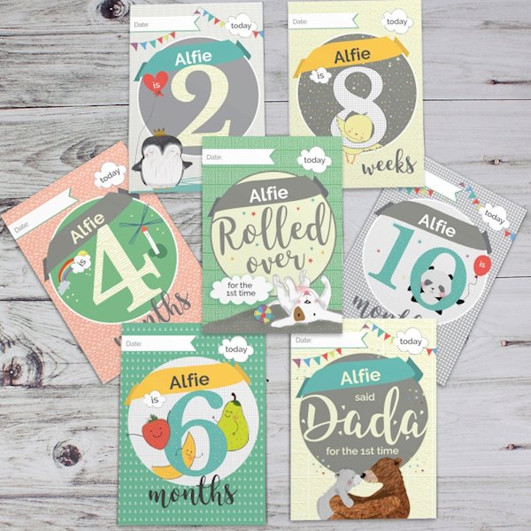 Baby Cards - For Milestone Moments