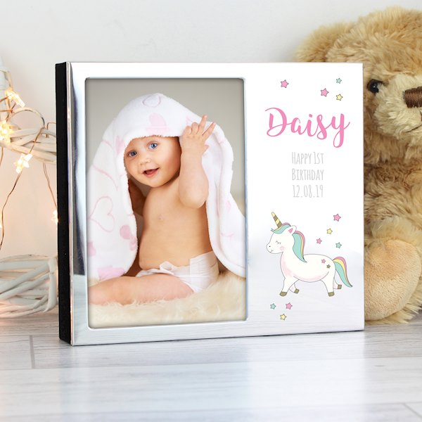 Baby Unicorn Photo Frame Album 4x6