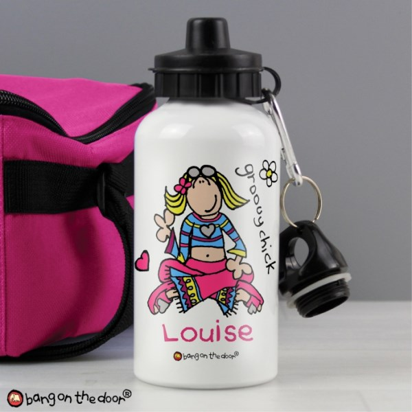 Bang on the Door Groovy Chick Drinks Bottle