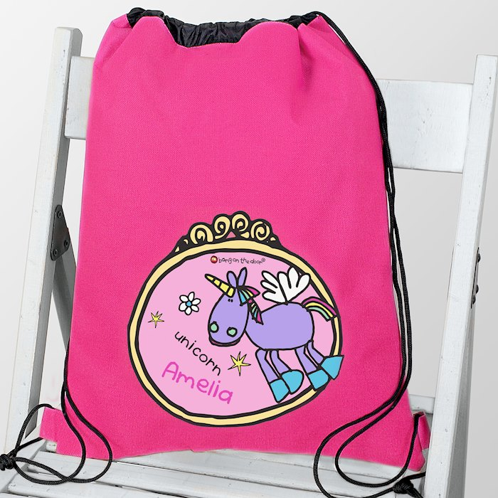 Bang on the Door Unicorn Swim & Kit Bag
