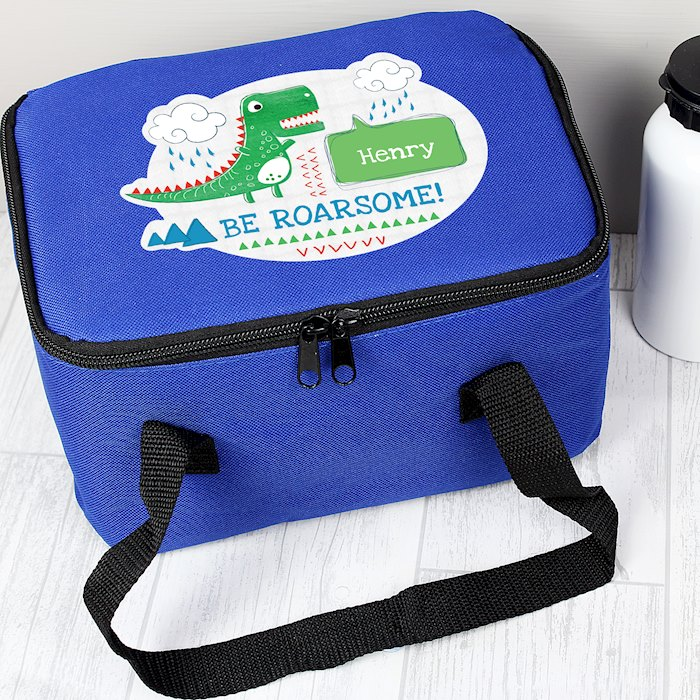 'Be Roarsome' Dinosaur Lunch Bag