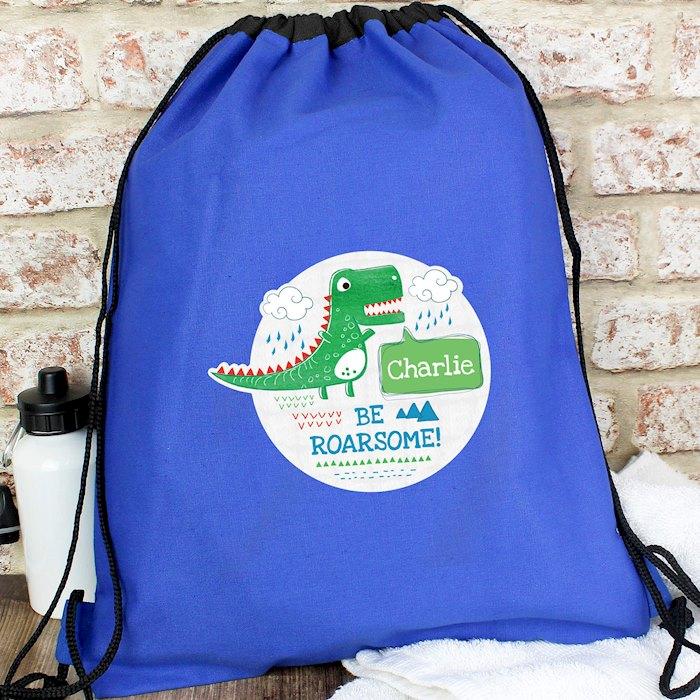 'Be Roarsome' Dinosaur Swim & Kit Bag
