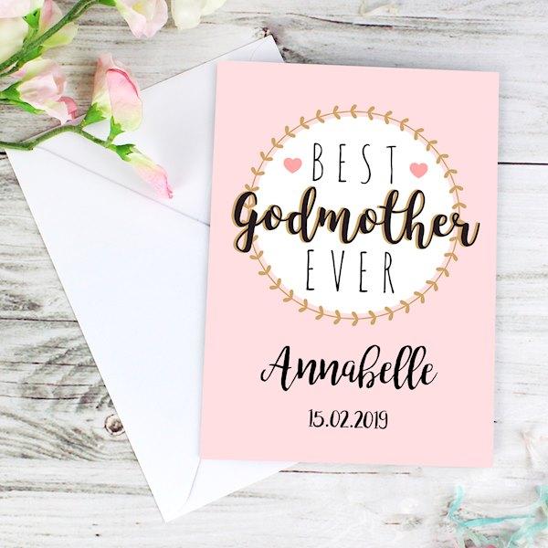 Best Godmother Card