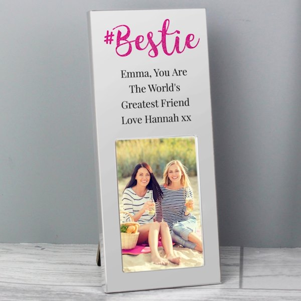 #Bestie 2x3 Photo Frame