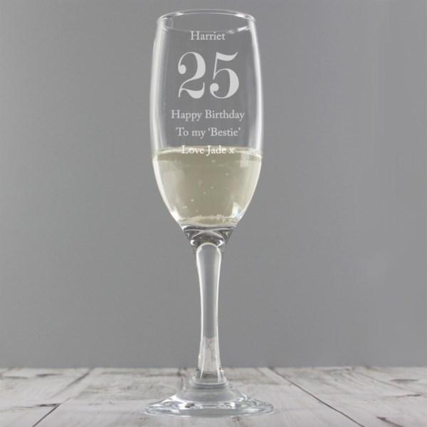 Personalised Birthday Big Age Flute