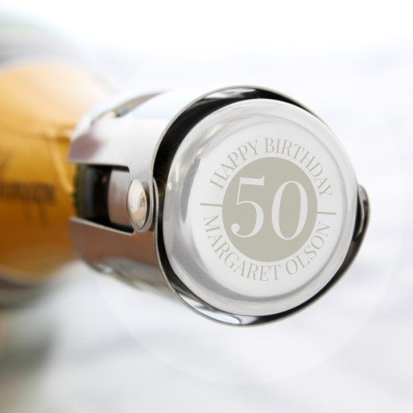 Big Number Bottle Stopper