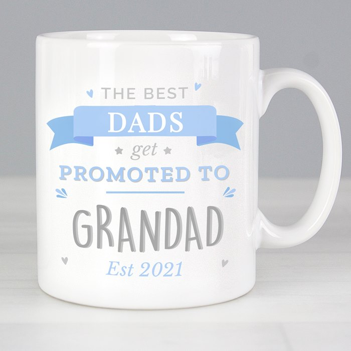 Blue Promoted to Mug