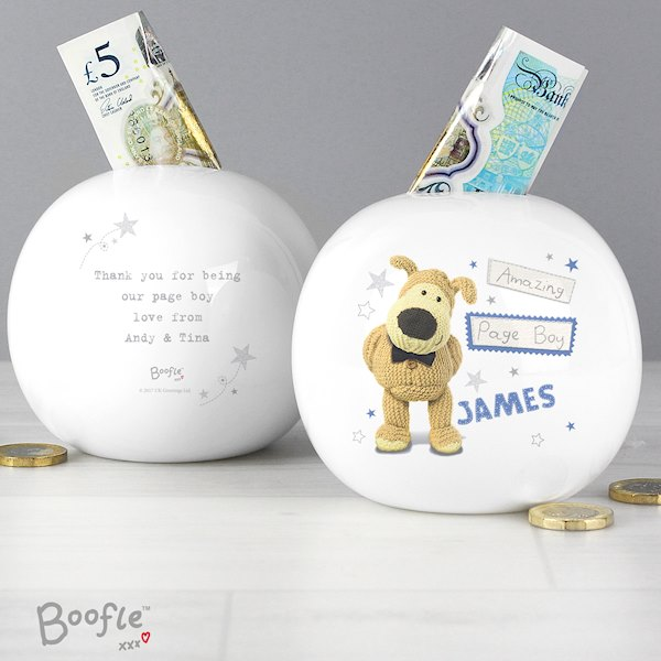 Boofle Boys Wedding Money Box