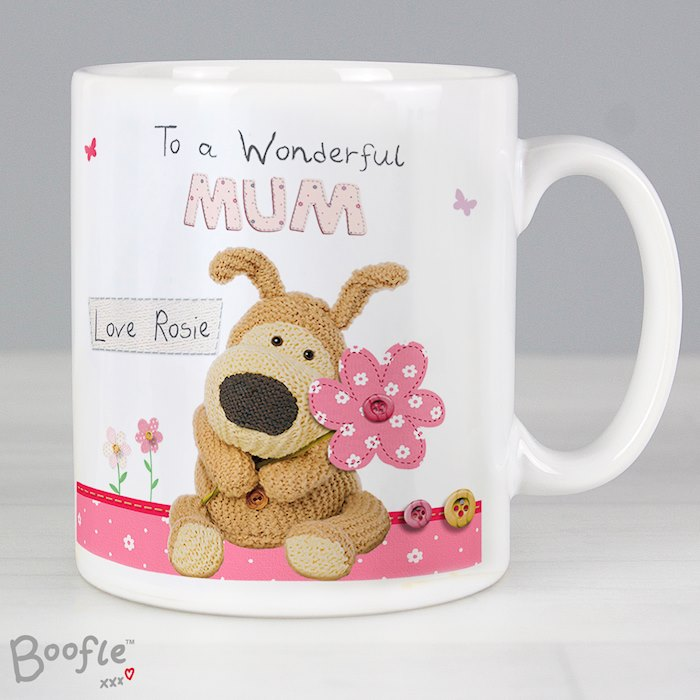 Boofle Flowers Mug