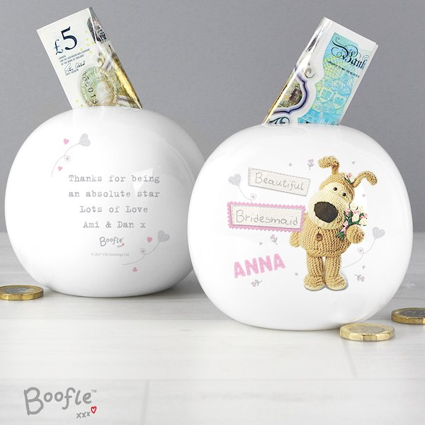 Boofle Girls Wedding Money Box