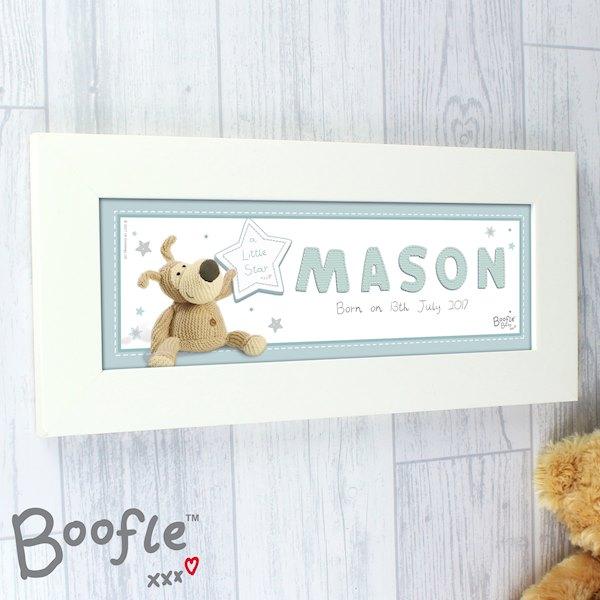Boofle It's a Boy Name Frame