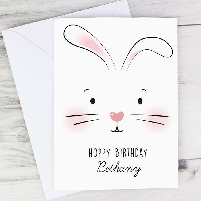 Bunny Features Card