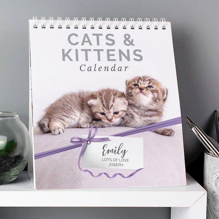 Cats and Kittens Desk Calendar