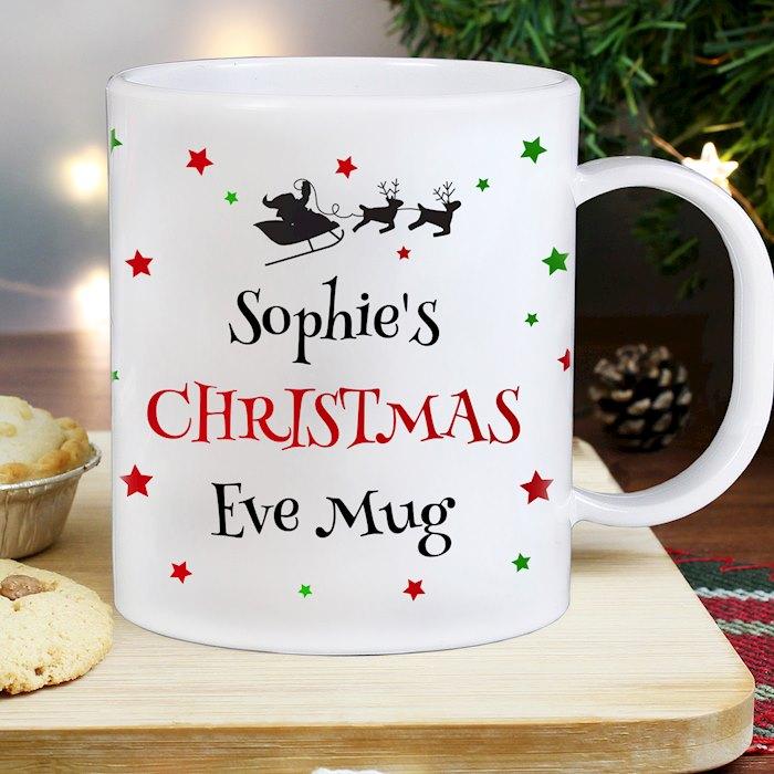 Christmas Eve Plastic Mug