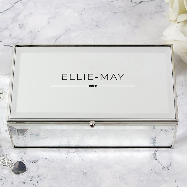 Classic Mirrored Jewellery Box