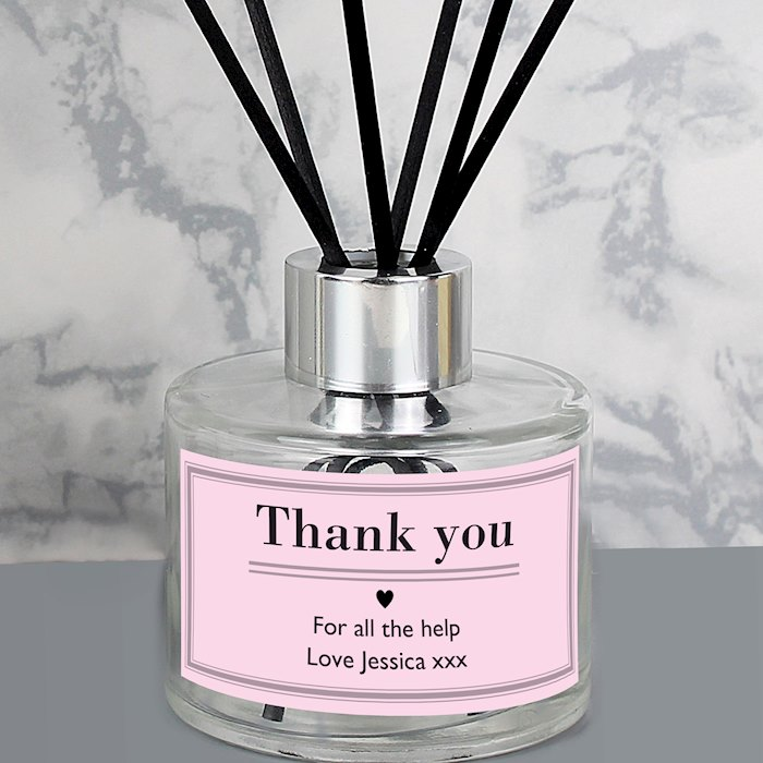Classic Pink Reed Diffuser