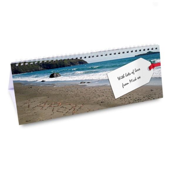Personalised Coast Desk Calendar