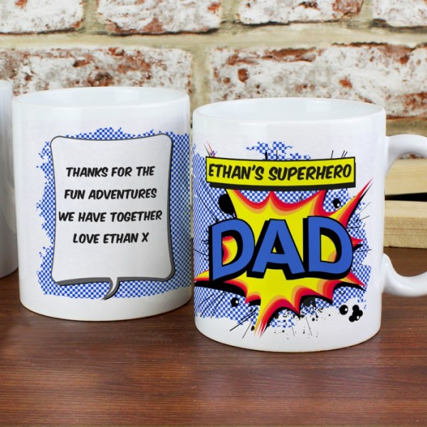 Comic Book Themed Mug