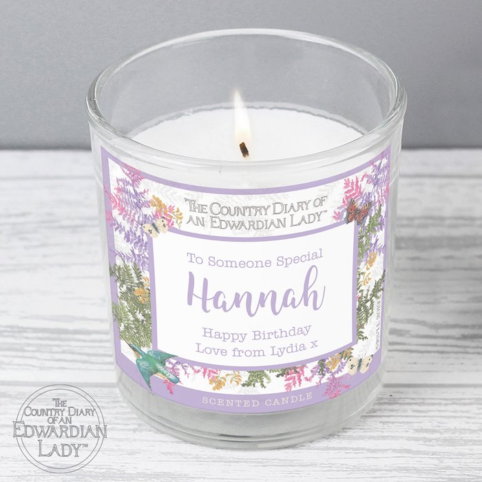 Country Diary Botanical Scented Jar Candle