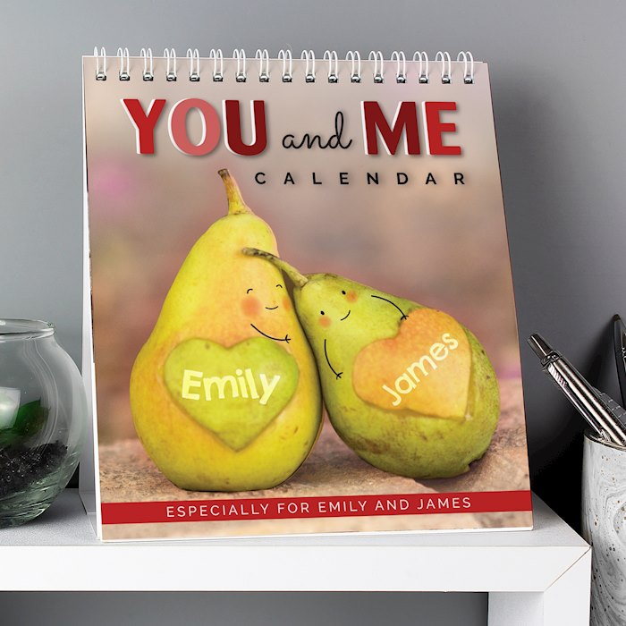 Couples Desk Calendar