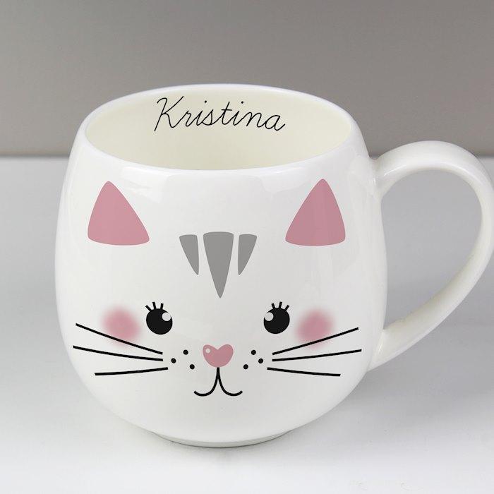 Cute Cat Shape Mug