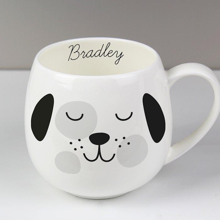 Cute Dog Shape Mug