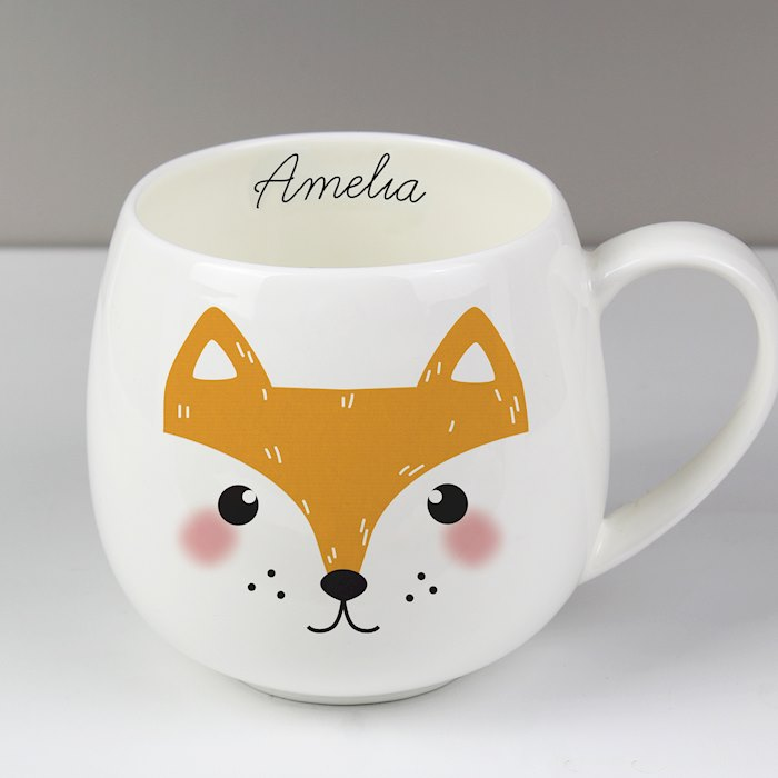 Cute Fox Shape Mug