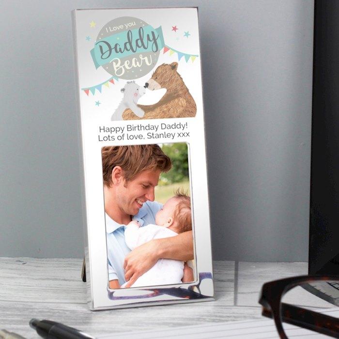 Daddy Bear 2x3 Photo Frame
