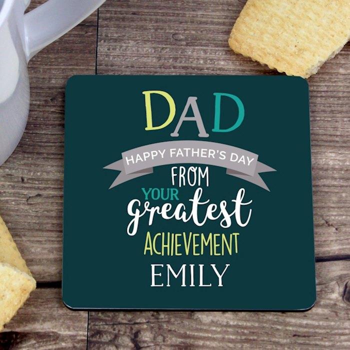 Dad's Greatest Achievement Coaster