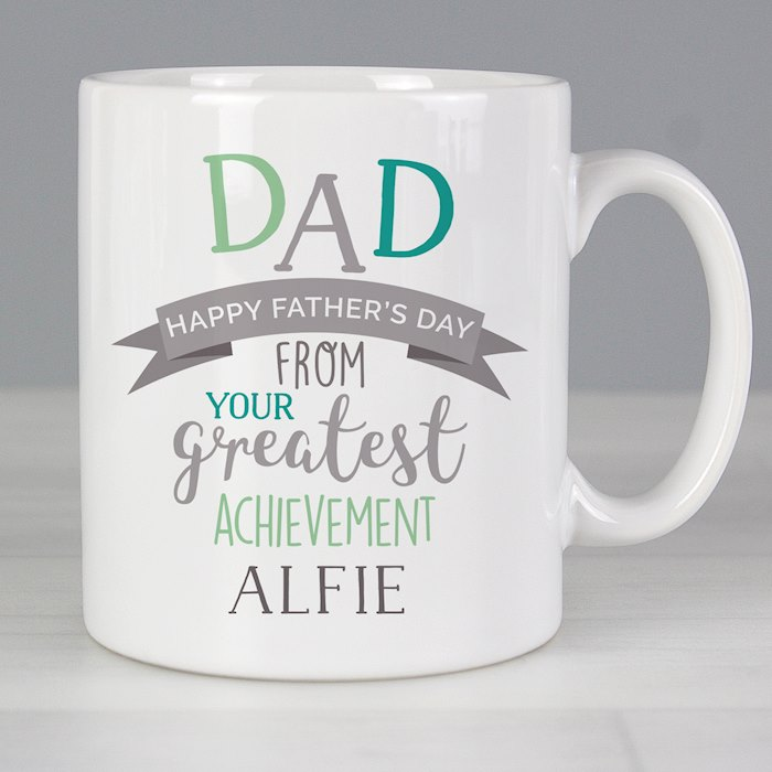 'Dad's Greatest Achievement' Mug