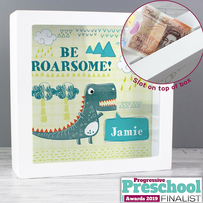 Dinosaur Fund and Keepsake Box
