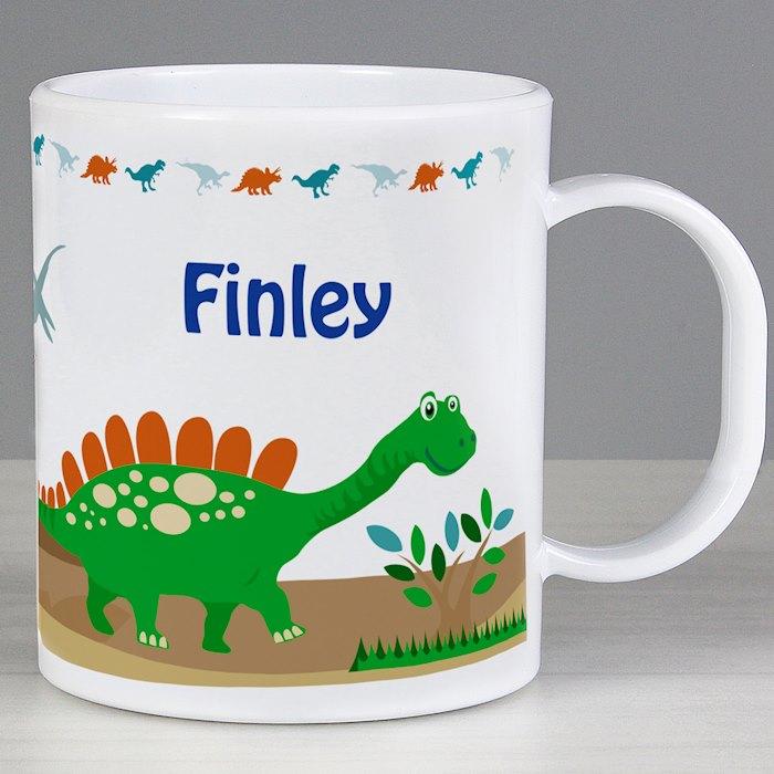 Dinosaur Plastic Mug