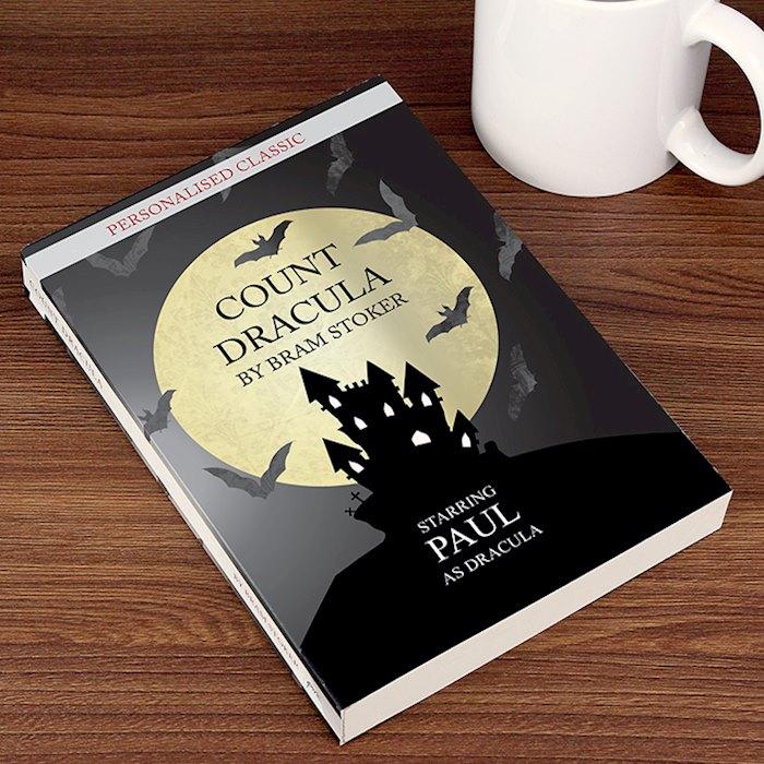 Personalised Dracula Novel - 1 Character