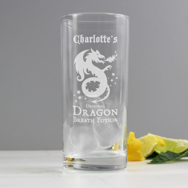 Dragon Breath Potion Hi Ball Glass