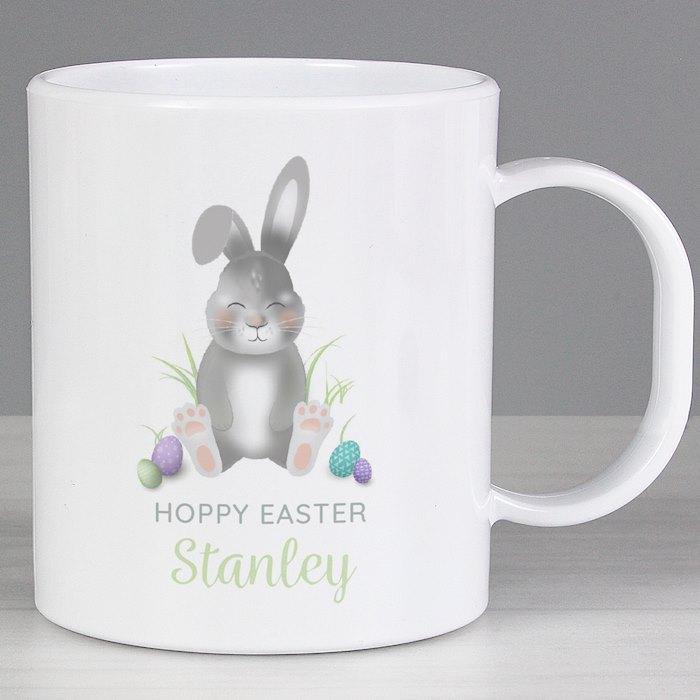 Easter Bunny Plastic Mug
