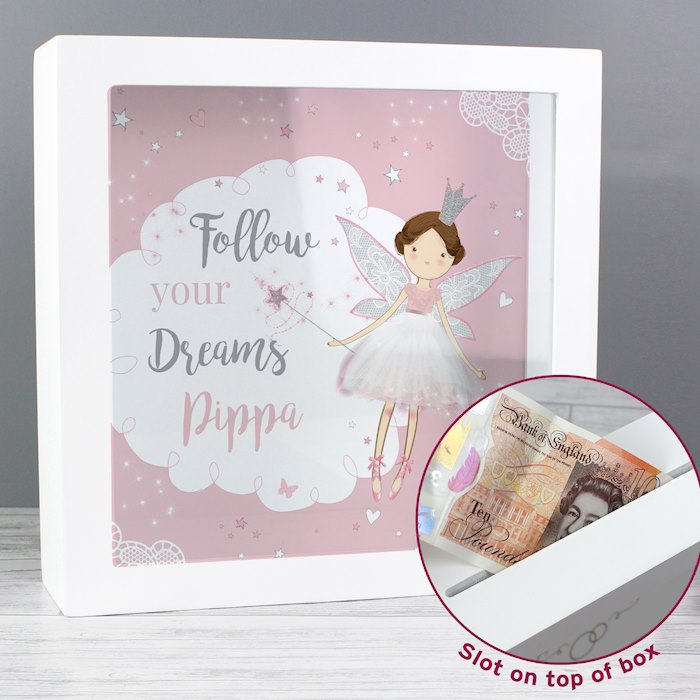 Fairy Princess Fund and Keepsake Box