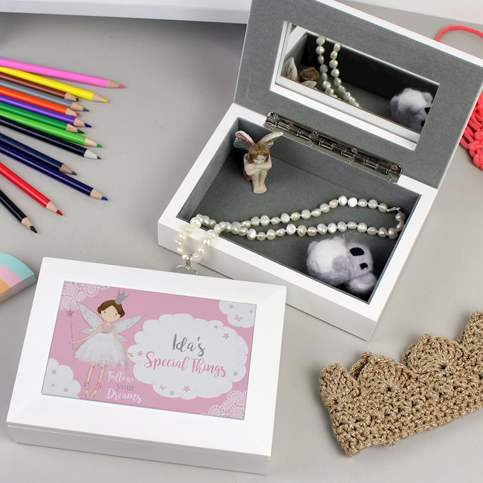 Fairy Princess Jewellery Box