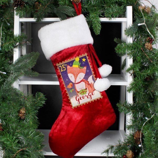 Festive Fox Stocking