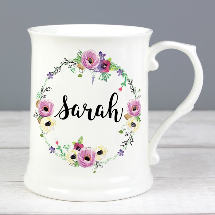 Floral 15oz Mug