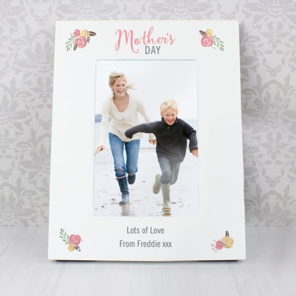 Floral Bouquet Mothers Day 4x6 Photo Frame