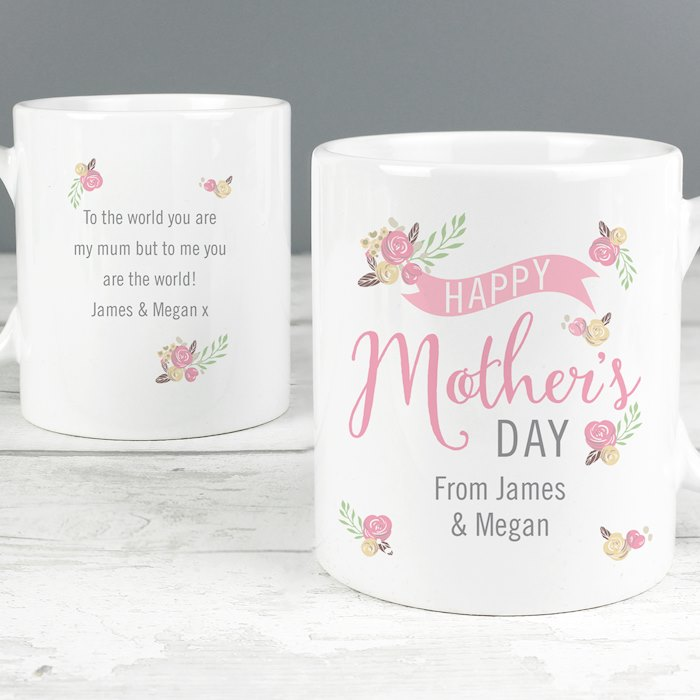 Floral Bouquet Mother's Day Mug