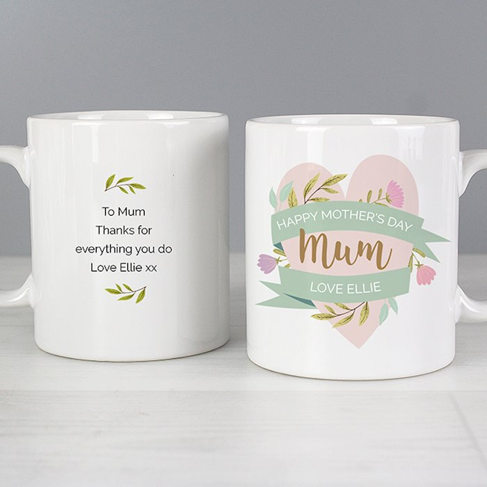 Floral Mother's Day Mug