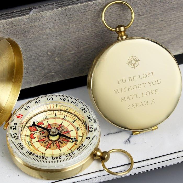 Free Text Keepsake Compass
