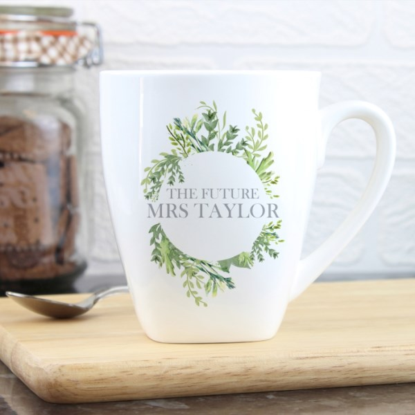 Fresh Botanical Latte Mug