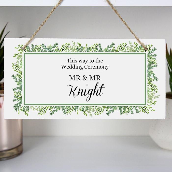 Fresh Botanical Wooden Sign