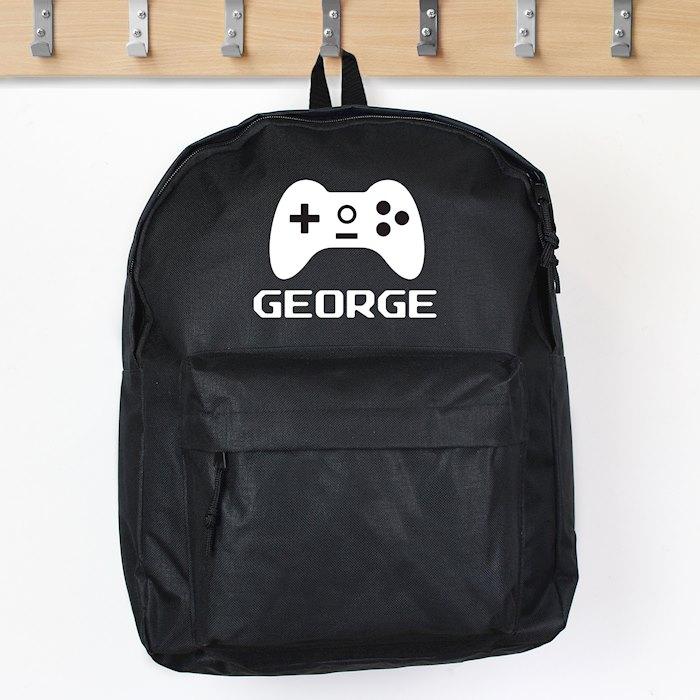 Gaming Black Backpack